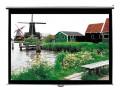 三石 电动幕布 120英寸 (2.44*1.83) 可提供免费安装服务