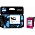 惠普(HP)CD888AA 703号彩色墨盒(适用HP Deskjet D730 K109a K209a)