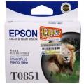 爱普生(Epson)T1221 黑色墨盒 C13T122180(原为T0851 适用PHOTO 1390)