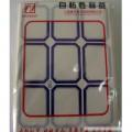 卓联 203 自粘性标贴 10张/本(蓝色 红色)