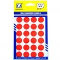 卓联 31号 16mm*16mm 圆点 自粘性手写标签 12张/本(蓝色 红色 绿色 黄色)