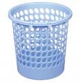 得力(deli) 9556 圆形纸篓  塑料垃圾桶 Φ24cm