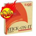 益而高(Eagle)TY654 75mm*75mm 黄色告事贴 100张装