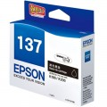 爱普生(Epson)T137黑色墨盒(适用K100 K200)