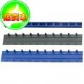 得力(deli)3827 10mm 10孔装订夹条 100条/盒