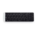 罗技(Logitech)K230 无线键盘 配置浅灰、粉红、蓝色三种时尚色彩顶部电池盖