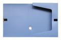 deli得力 档案盒 文件盒 5622  A4 2寸粘扣档案盒