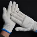 劳保线手套 500g棉线手套 白纱手套 棉手套耐磨防滑加厚