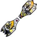 deli得力游龙板 活力板 PU闪光轮 F3251 二轮滑板 儿童滑板车 蛇滑板