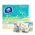 维达纸手帕 Feel系列方形迷你纸手帕 4层 12包/条 手帕纸巾