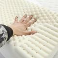 恒源祥家纺 彩羊系列 进口乳胶枕 按摩乳胶枕 恒源祥乳胶枕头 40*60cm